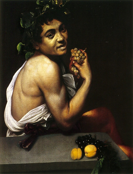 Self-Portrait as Bacchus.