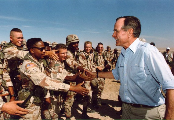 Bush_troops