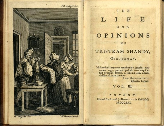 tristram shandy essays Treatment of the reader in tristram shandy the novel tristram shandy by lawrence sterne not only caused a sensation among the reading public related essays.