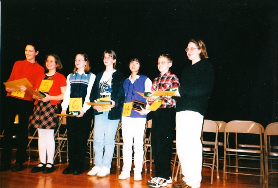 570_Edina District Spelling Bee 1998