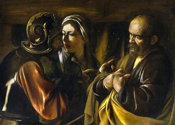 800px-The_Denial_of_Saint_Peter-Caravaggio_(1610)