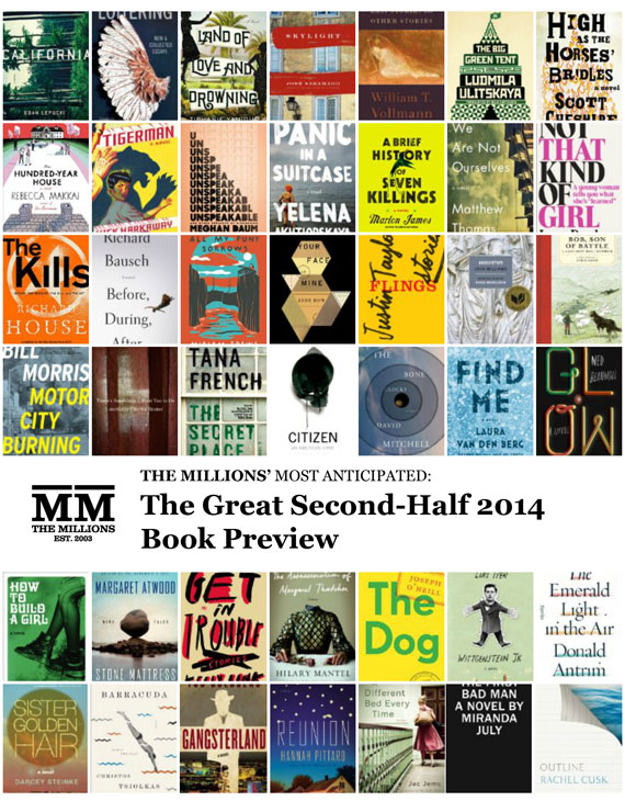 Most Anticipated: The Great Second-Half 2014 Book Preview
