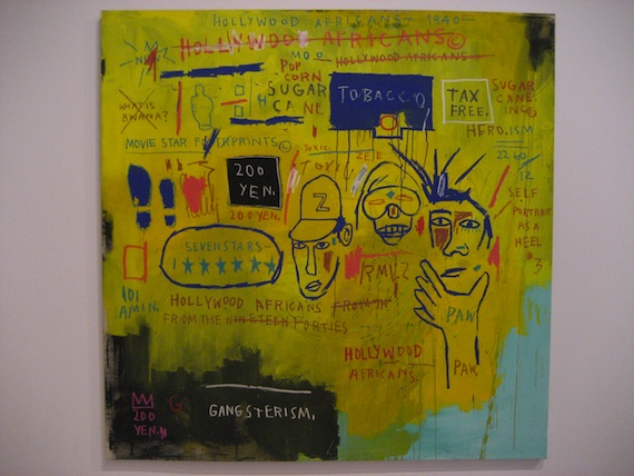 By Jean Michel Basquiat.