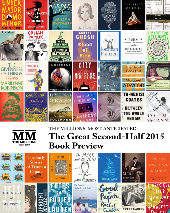 Most Anticipated: The Great Second-Half 2015 Book Preview