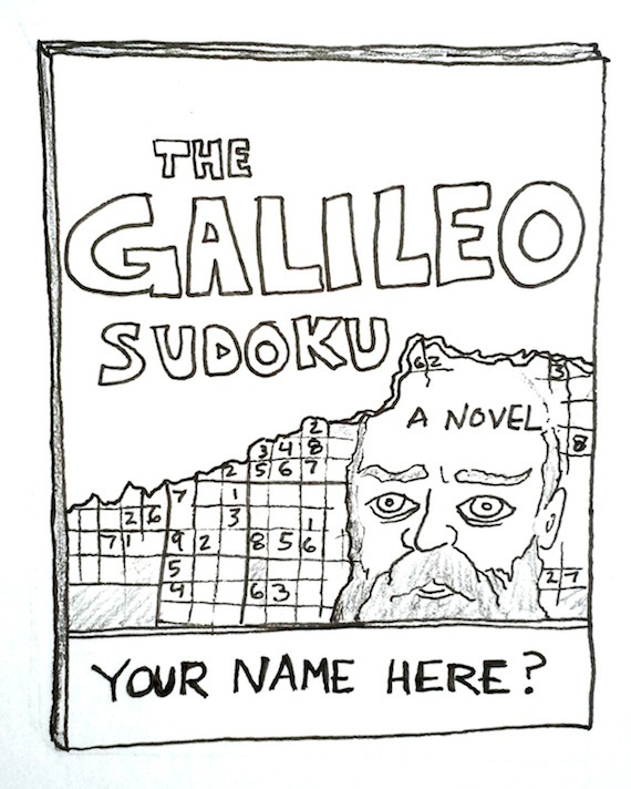The Galileo Sudoku (White title)